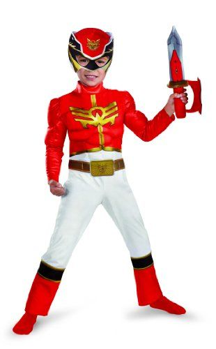 Disguise Power Rangers Megaforce Red Ranger Muscle Costume, 3T-4T Disguise Costumes http://www.amazon.com/dp/B00BHPT2II/ref=cm_sw_r_pi_dp_HHECub148D03E