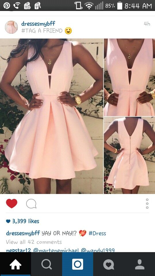 On insta. I  this dress