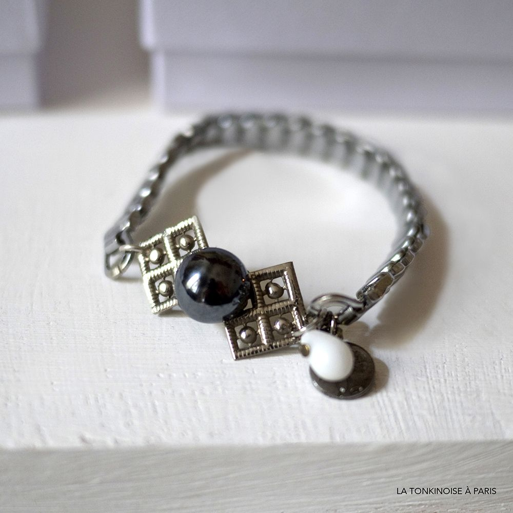 Bracelet Arty mini-noeud vintage
