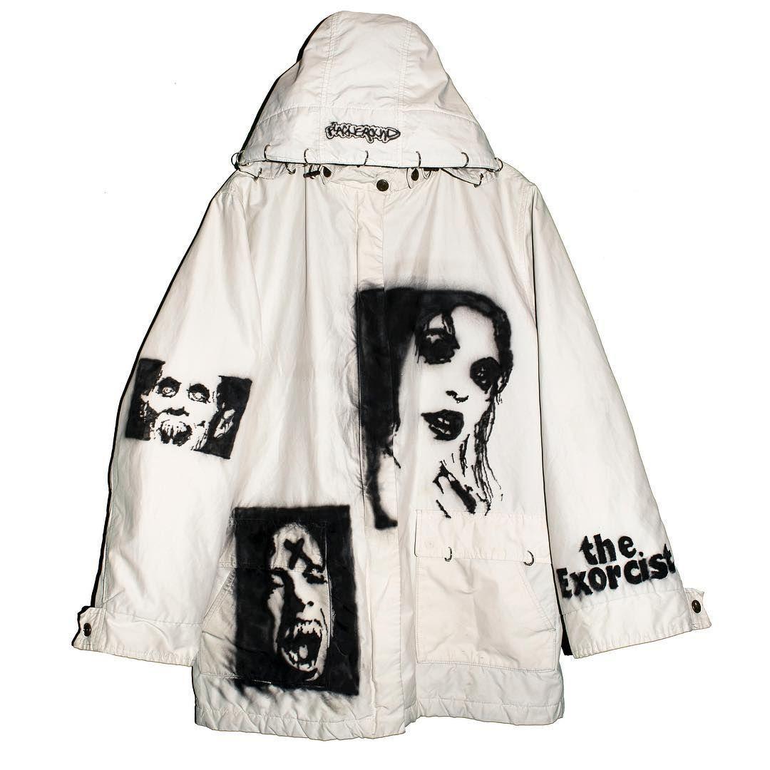 Inspired Japaneese Off White Jacket Bomber Acne Coat Hoodie
