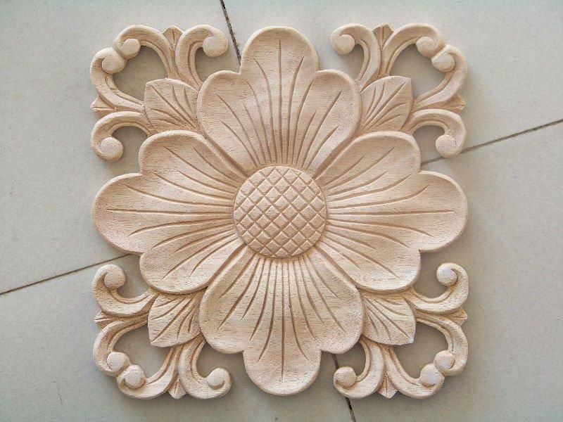 Intricate CNC-machined floral detail component will snazz up any simple  piece of furniture before painting... Wood Carving Patterns