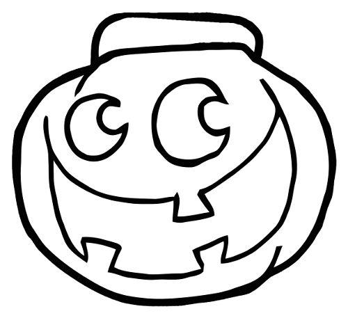 Dibujos de calabazas de Halloween para colorear - printable pumpkin ...