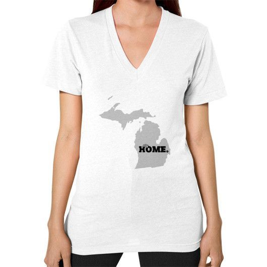 Michigan - Womens V-Neck
