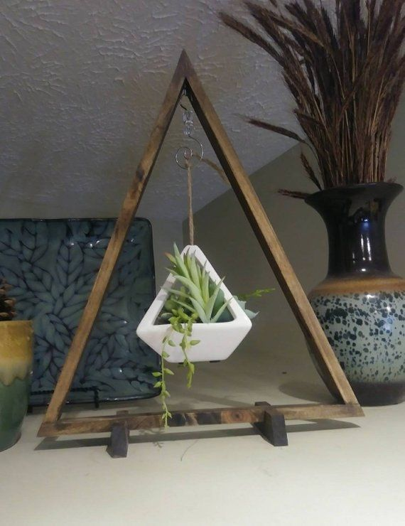 Review Rustic wood triangle wood decor rustic decor farmhouse style boho decor housewarming t Amazing - Simple rustic wood decor Awesome