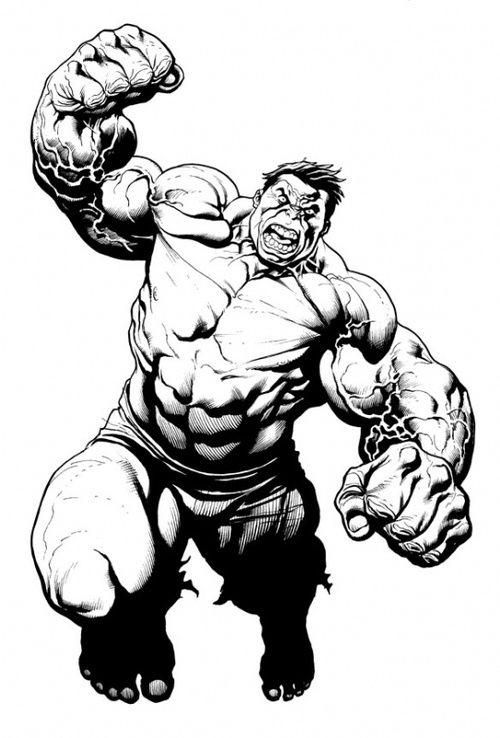 Kleurplaten The Hulk.The Hulk By Frank Cho Frank Cho Hulk Kleurplaten En Kleuren