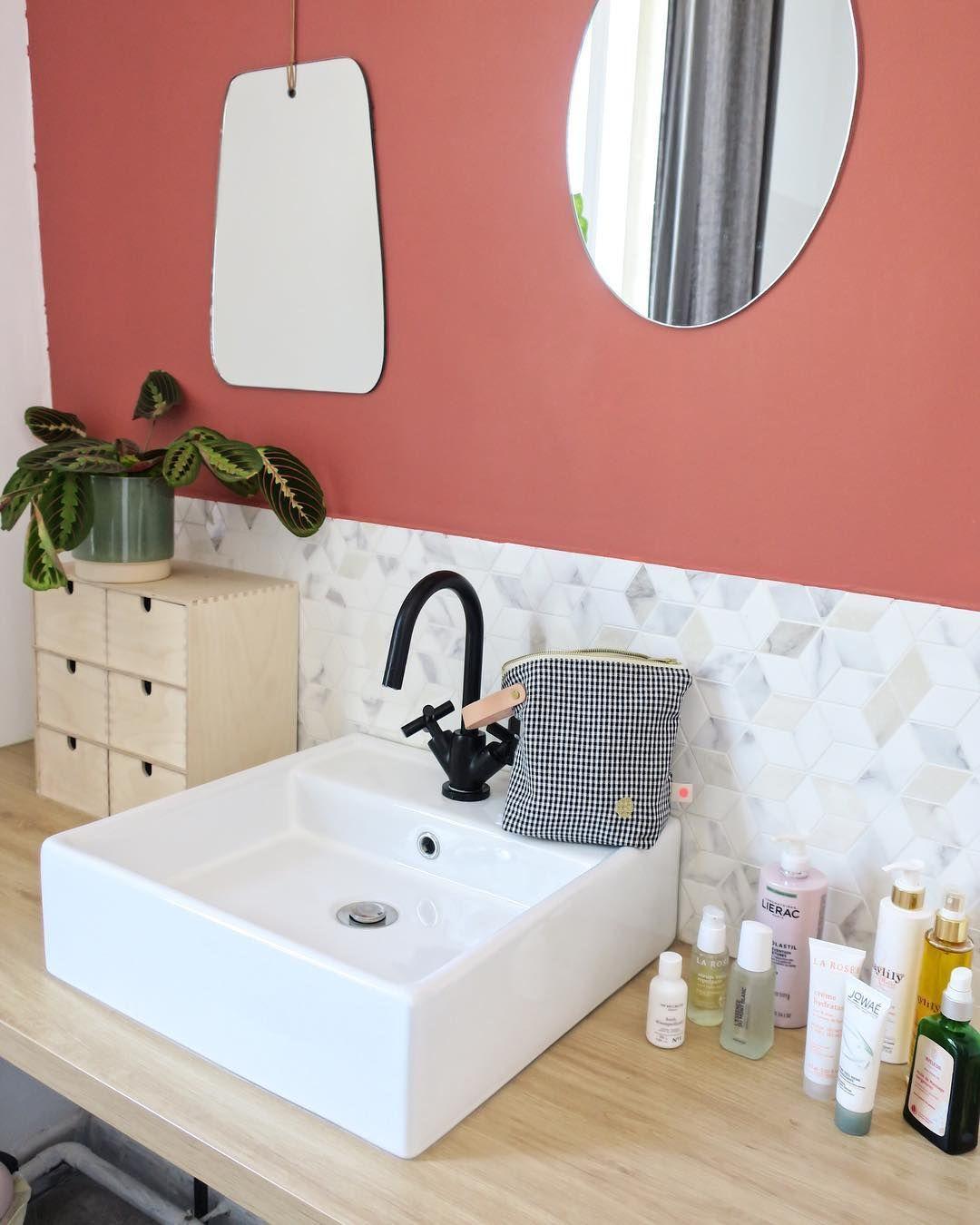 Terracotta : une salle de bain chaleureuse et naturelle  Couleur