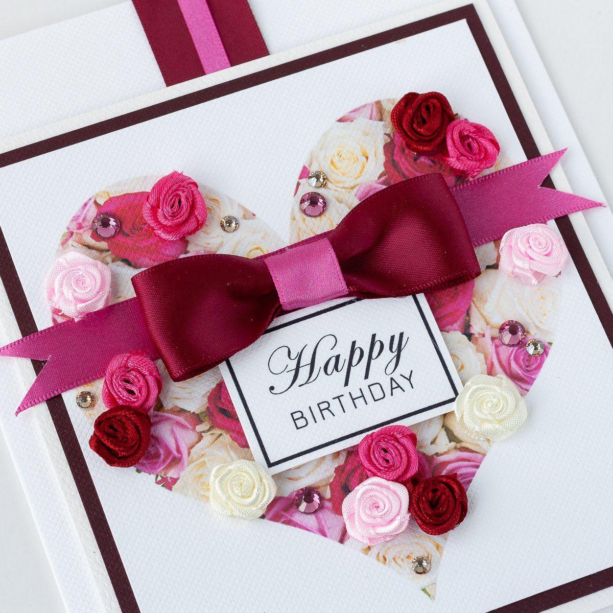 Luxury Boxed Birthday Card Sweetheart Handmade Birthday Cards Luxury Birthday Cards Boxed Birthday Cards