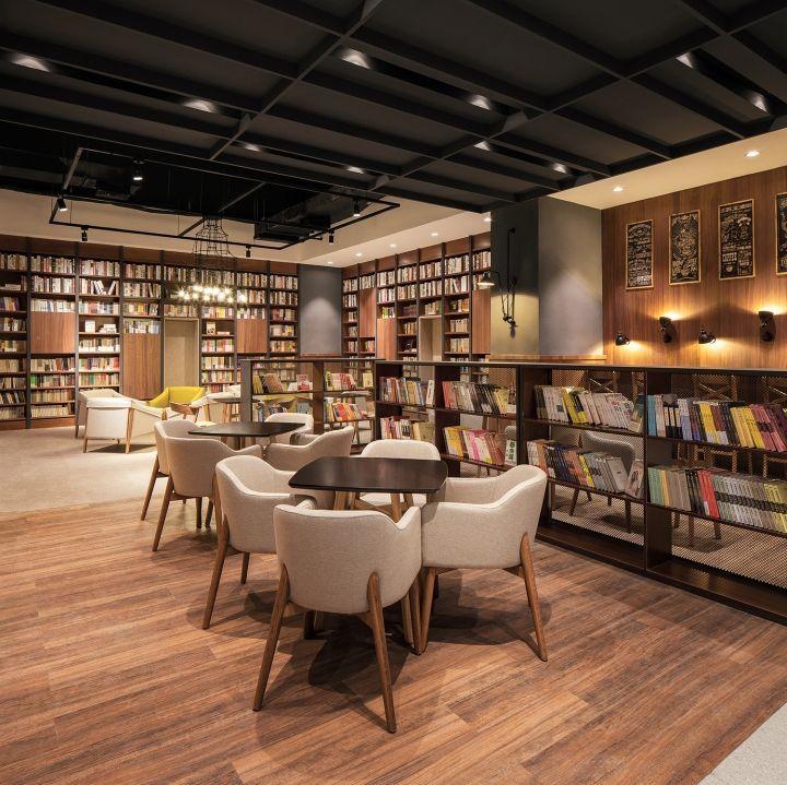 Desain Ruang Tamu Cafe  baichuaninternational cinema by um design shenzhen china