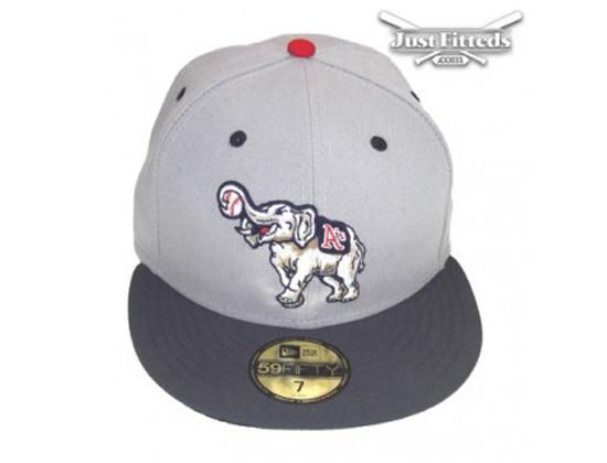 best website 5459e b4453 Oakland Athletics Grey-Graphite Exclusive 59Fifty Fitted Baseball Cap by NEW  ERA x MLB