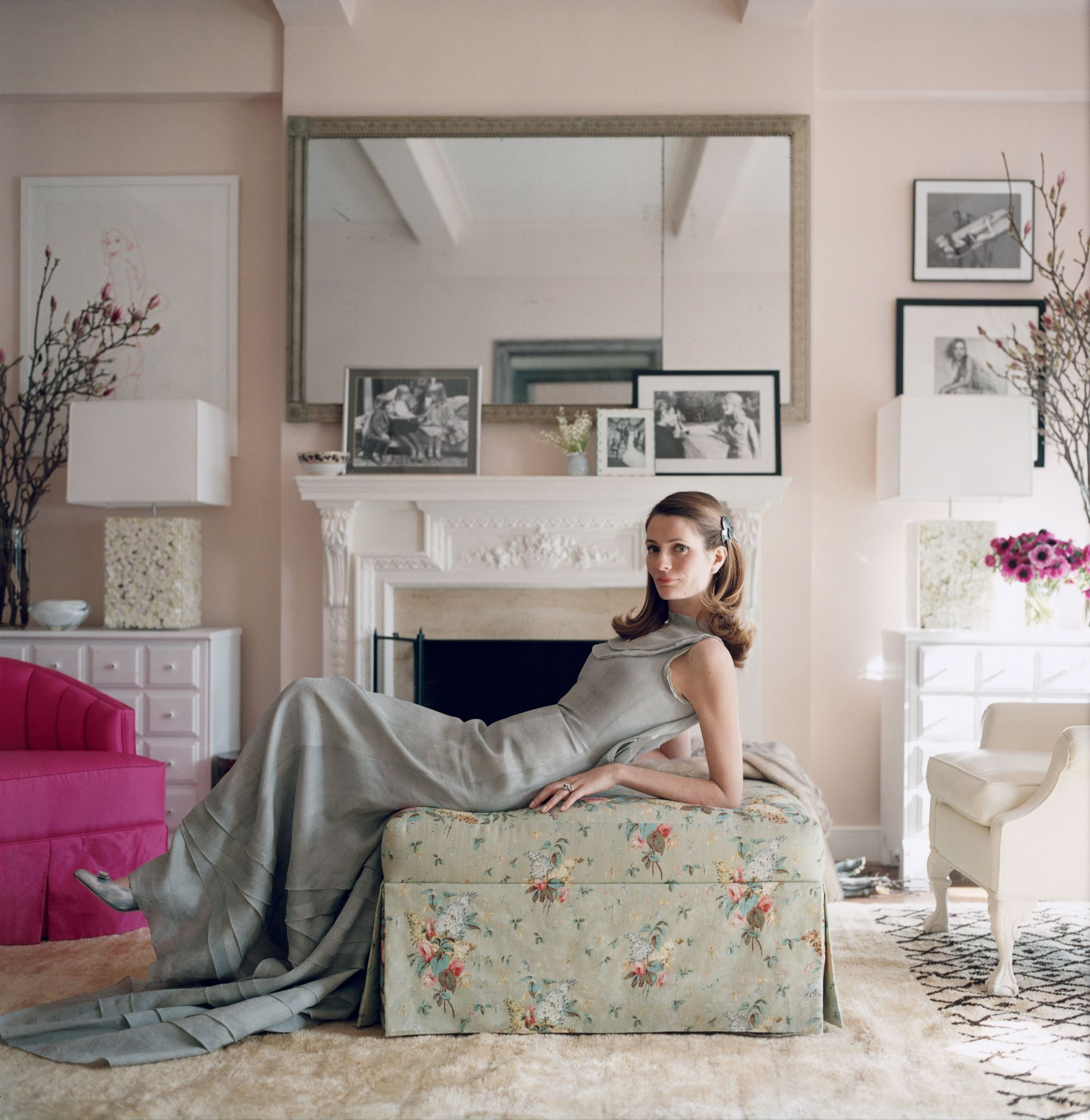 Awesome The Best Pink Paint Colors Vogue S Favorite Interior Download Free Architecture Designs Aeocymadebymaigaardcom