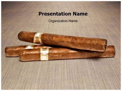 Download Our Professionally Designed Smoking Cigars Ppt Template