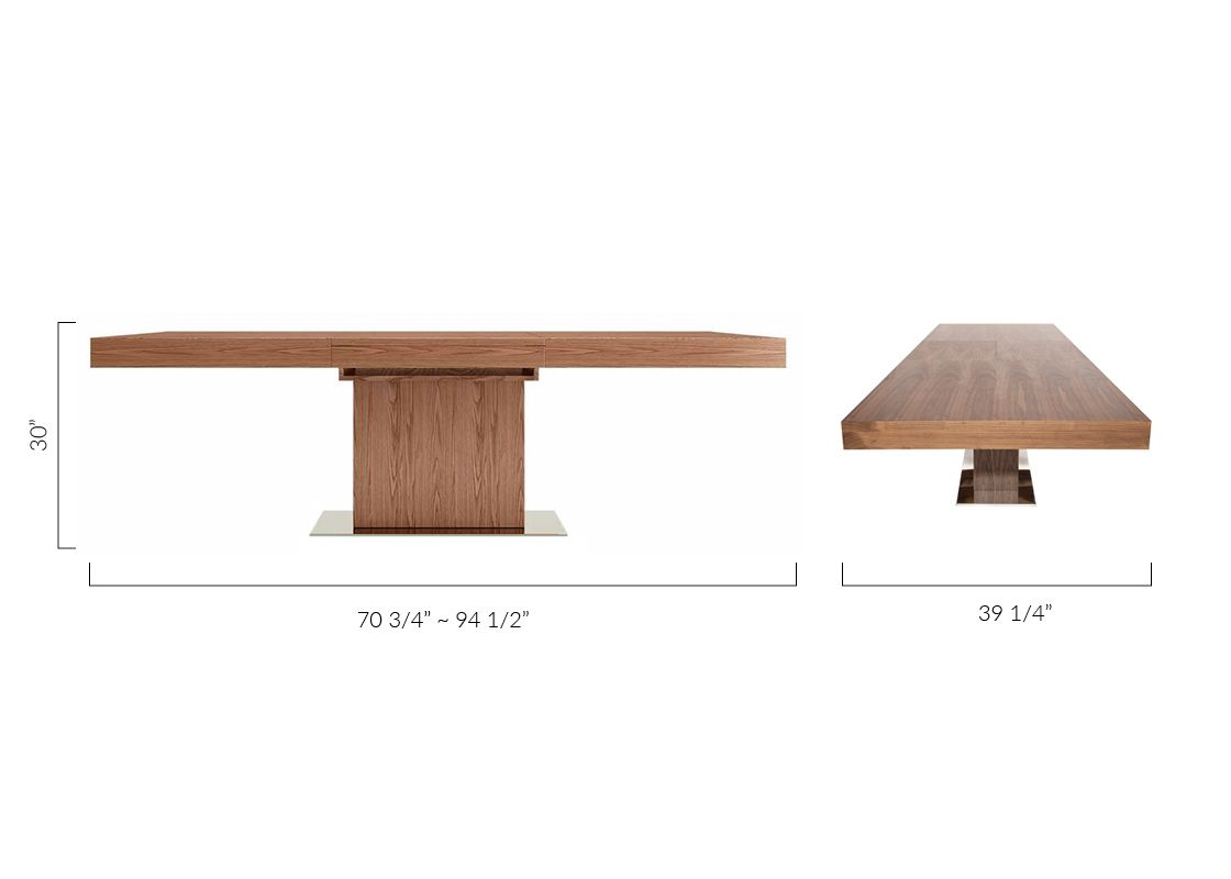 Palerma Extendable Dining Table Walnut With Images Dining Table Extendable Dining Table Dining Room Table Chairs