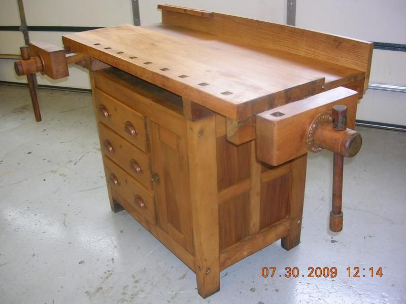 Woodworking Bench | 33827d1280587740 Found Old Woodworking Bench  Dscn4707