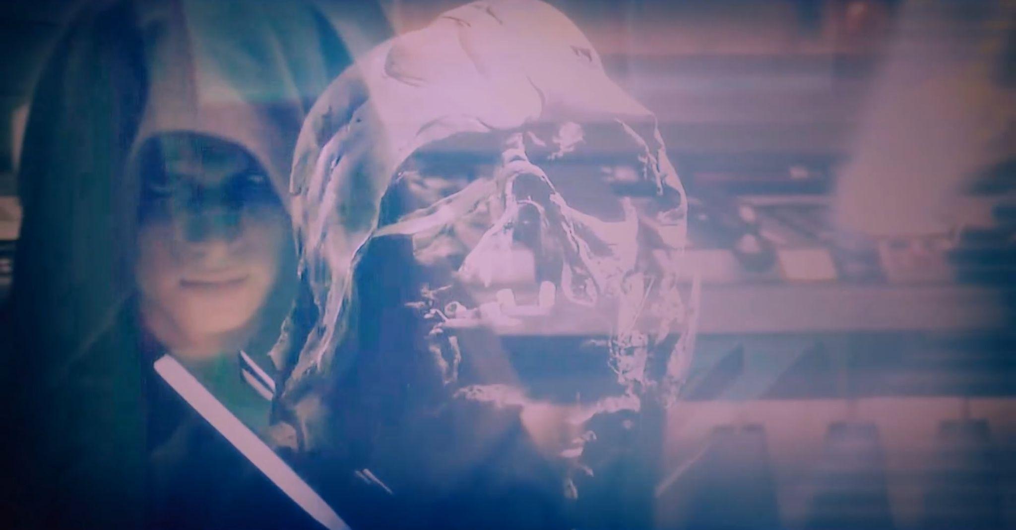 He is still Anakin skywalker behind the mask.