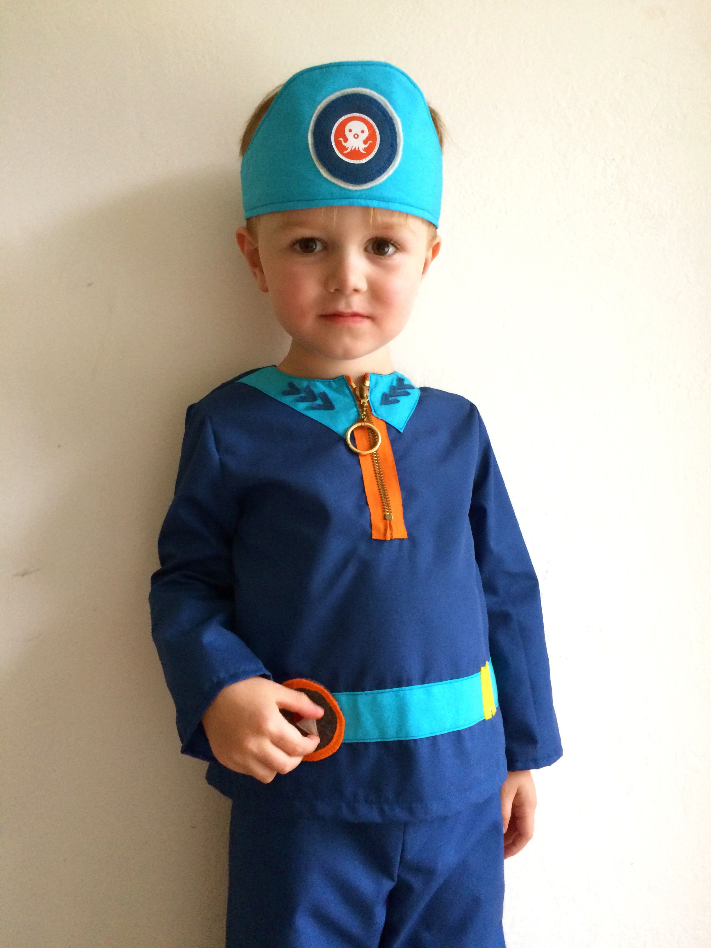 Captain Barnacles DIY from The Octonauts costume dress up