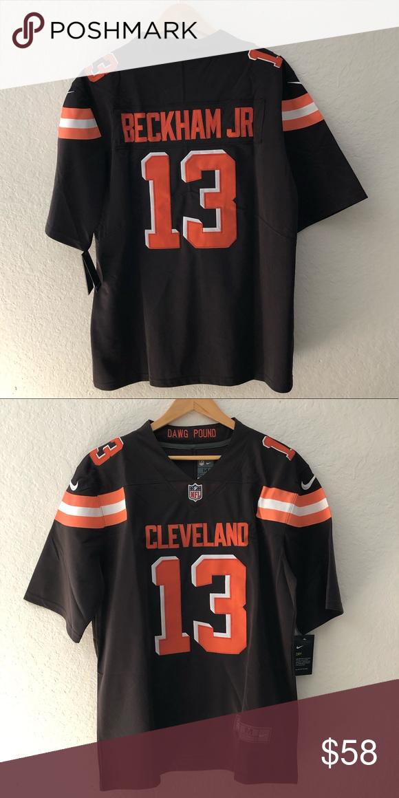 sale retailer 8cd51 66657 Men's Cleveland Browns Odell Beckham Jr Jersey Brand new ...