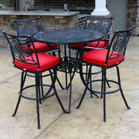 Beautiful Patio Bar Height Chairs