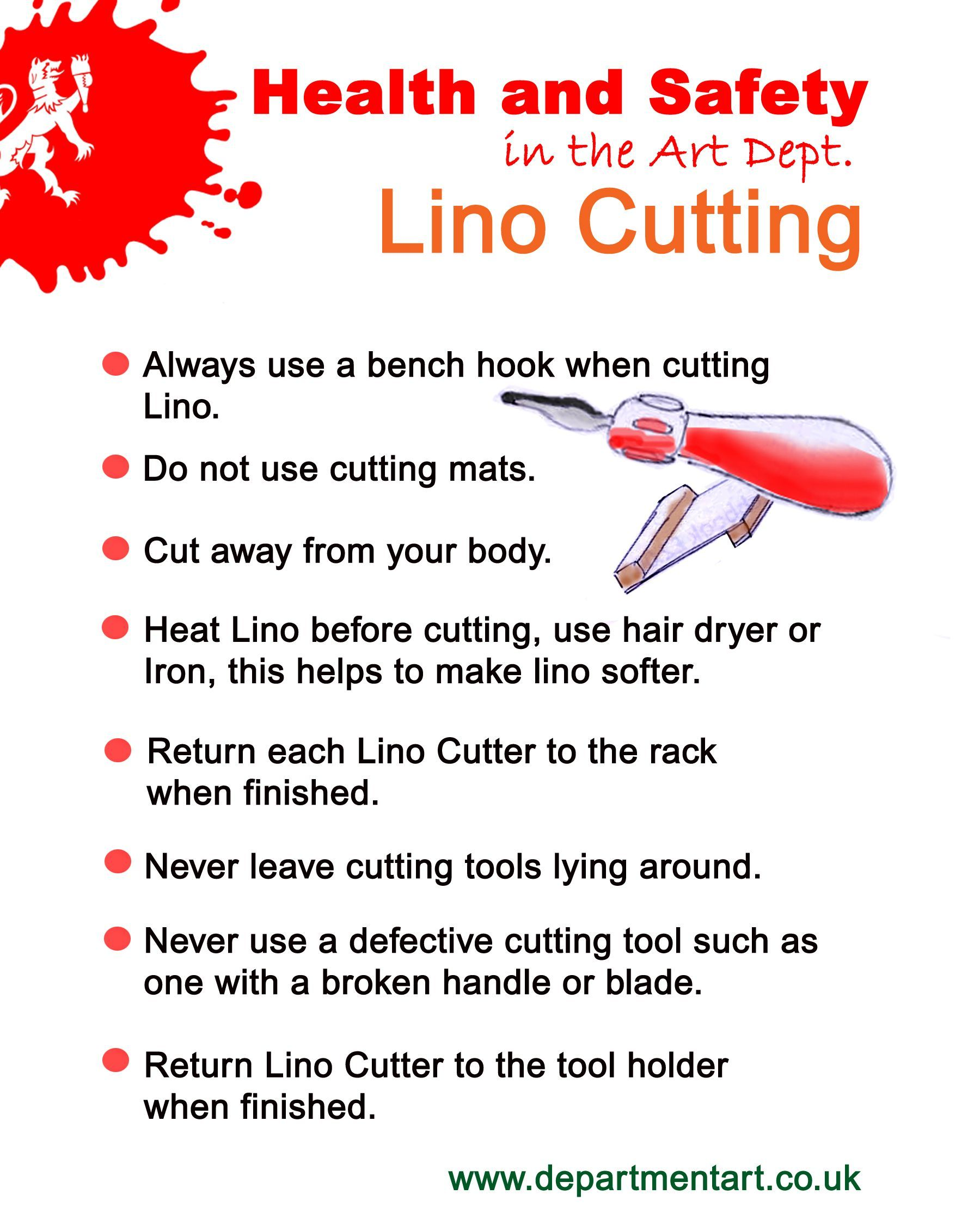Image Result For Lino Print Process Handout