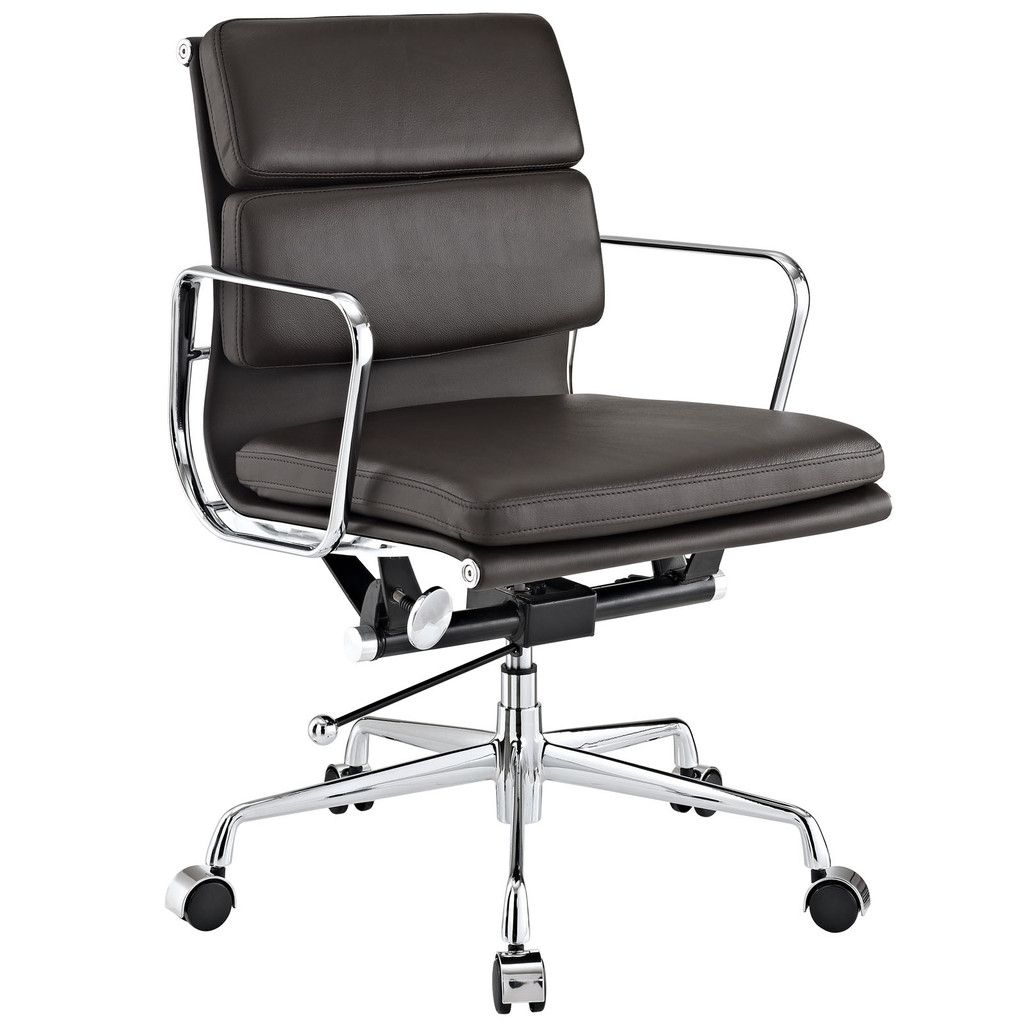 Eames Softpad Management Chair Reproduction Leather In 2020