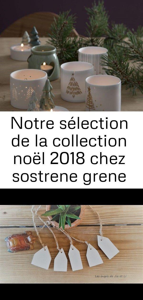 Notre sélection de la collection noël 2018 chez sostrene grene 113 #déconoelfaitmain