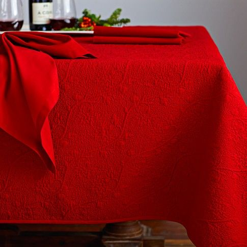 Vine Floral Boutis Tablecloth, 70