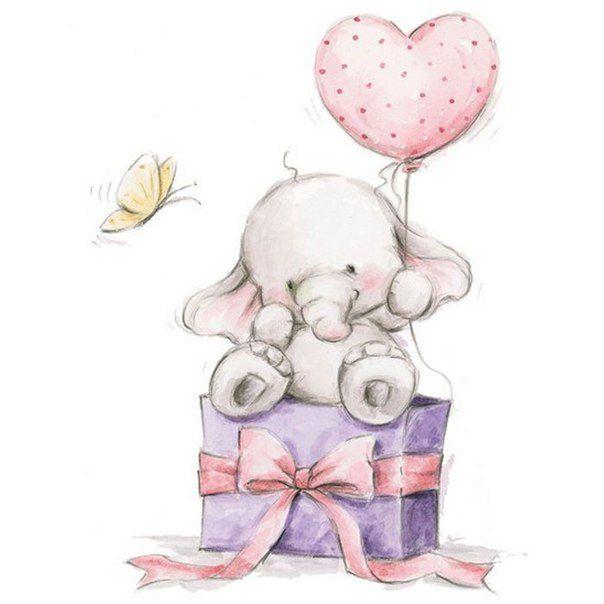 Палочек для, милые картинки для открытки на день рождения