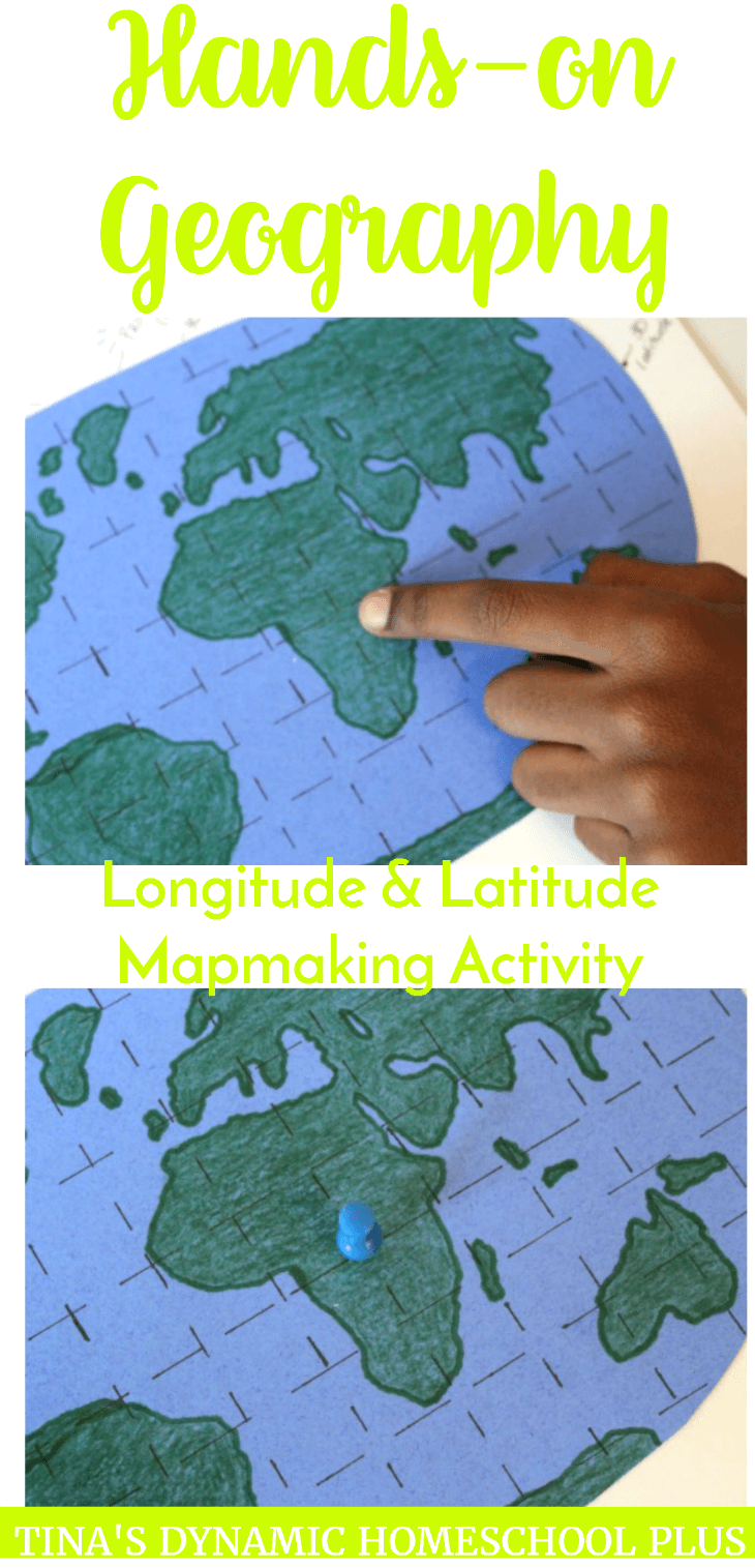 Hands on Geography Longitude Latitude Mapmaking Activity