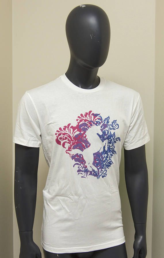 135e3becb55 Bisexual Pride Unicorn Floral Explosion T-Shirt - Women Men Gay Pride  Awareness Tshirt - Bi Flag Tee