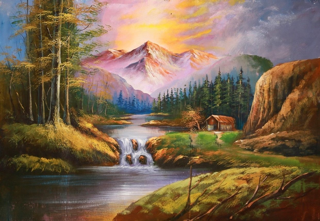 15 Doubts About Where To Buy Nature Paintings You Should Clarify Where To Buy Nature Paintings 2020 Famous Landscape Paintings Colorful Landscape Paintings