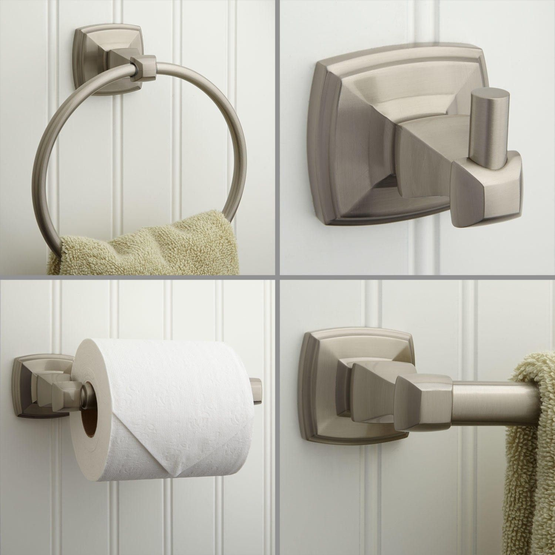 Bathroom Accessories Set Brushed Nickel Ideas 2017 2018