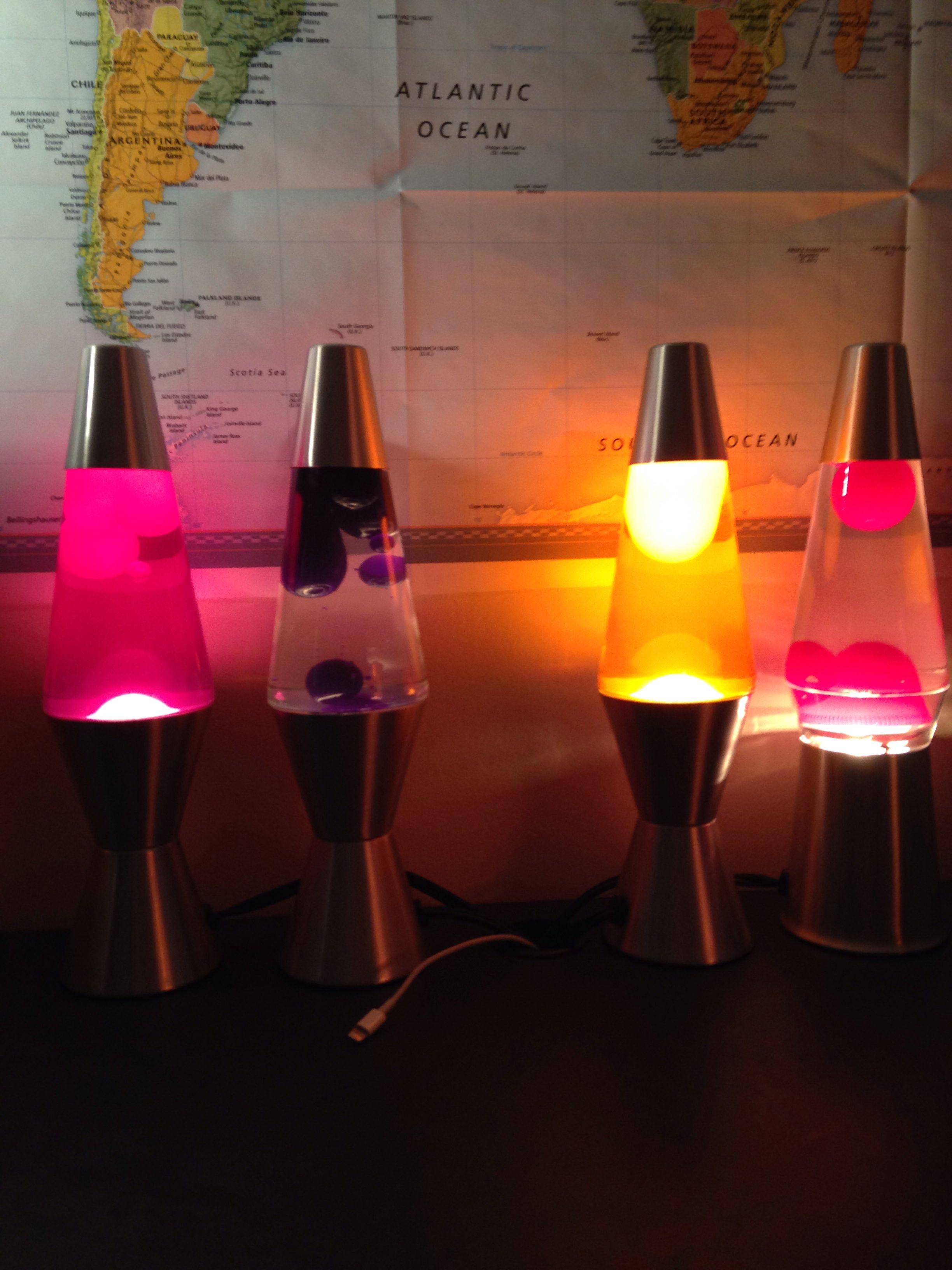 Four Eleven Inch Lava Lamps Lava Lamp Lamp Lava