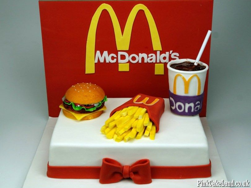 Admirable 25 Best Picture Of Mcdonalds Birthday Cake Met Afbeeldingen Birthday Cards Printable Nowaargucafe Filternl