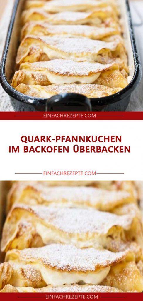 Quark-Pfannkuchen im Backofen überbacken 😍 😍 😍