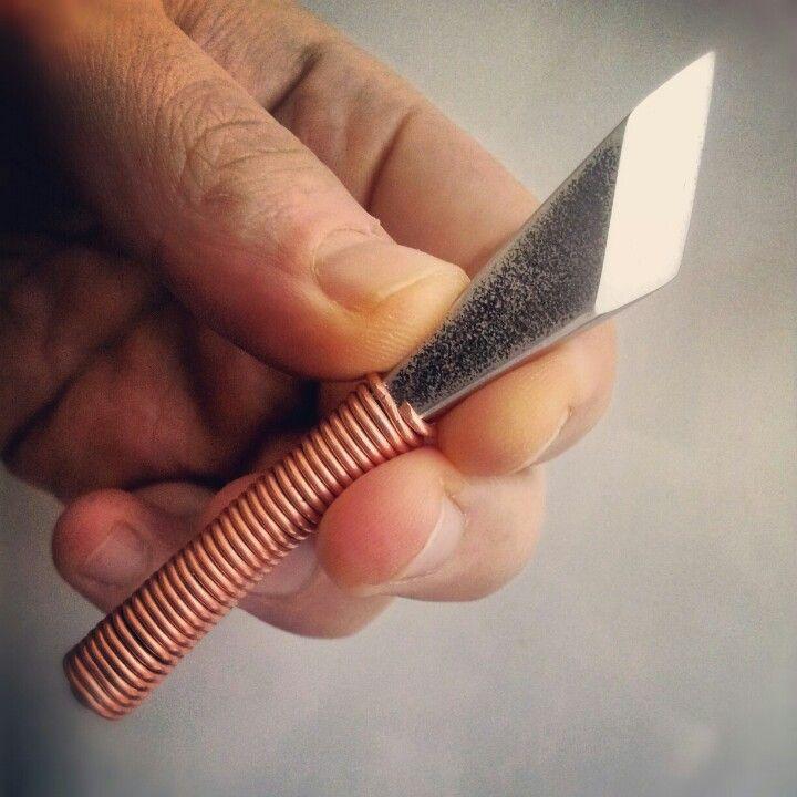 Making A Carving Knife: The Traditional Japanese Kiridashi Knife Was Originally