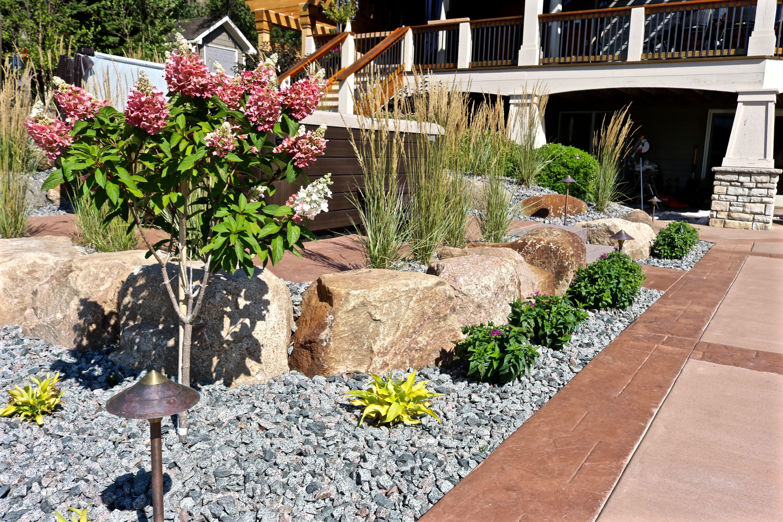 By Maple Crest Landscape 2425 State Hwy 55 Medina Mn 55340 Landscape Design Hardscape Pool Landscaping