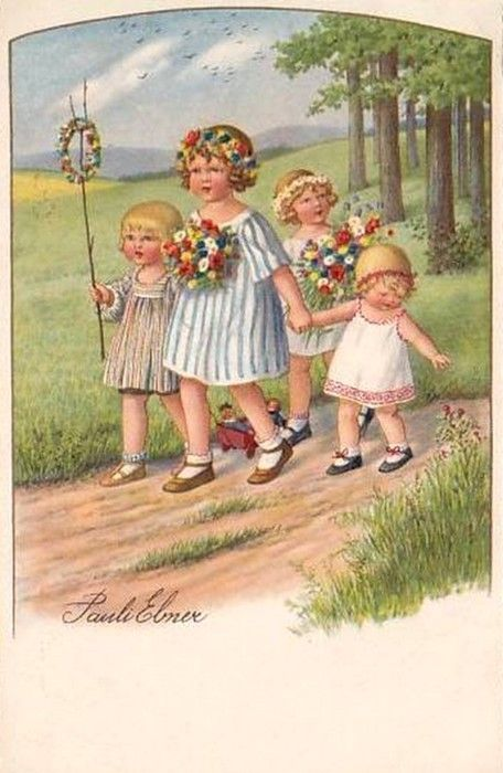 Pauli Ebner (1873-1949) — Old Post Cards (456x700)