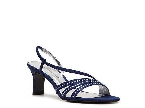Lulu Townsend Granado Sandal Dress Sandals Women S Shoes Dsw Navy Or Silver