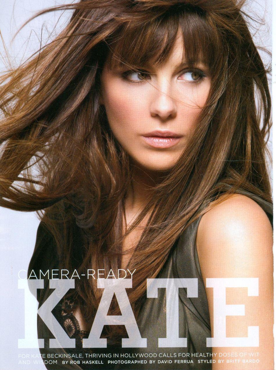 Image detail for kate beckinsale u california style magazine hair