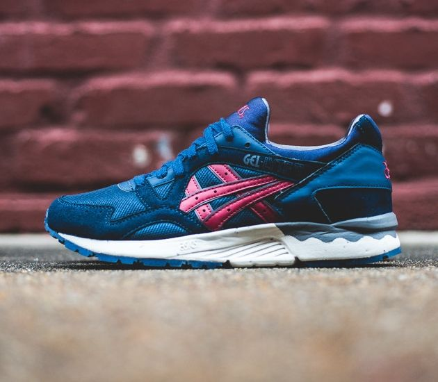 Asics Gel Lyte V Vegan Navy Burgundy With Images Asics Gel