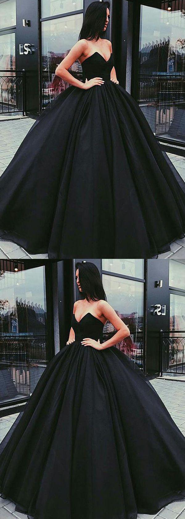 Unique Organza  Satin Vneck Neckline Ball Gown Evening Dress  Kleider für bälle