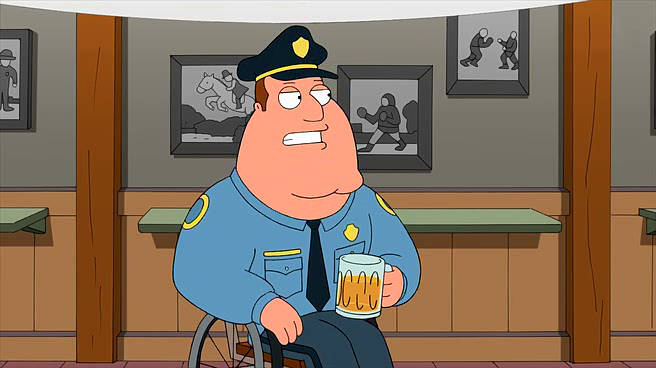 Joe Swanson From Family Guy Favorite Character Family Guy Griffin Family