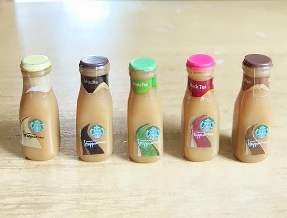 Photo of 2Pcs.Miniature Starbucks Cappuccino Bottle,Miniature Starbucks,Miniature Cappuccino,Miniature Bottle,Starbucks,Bottle,Cappuccino