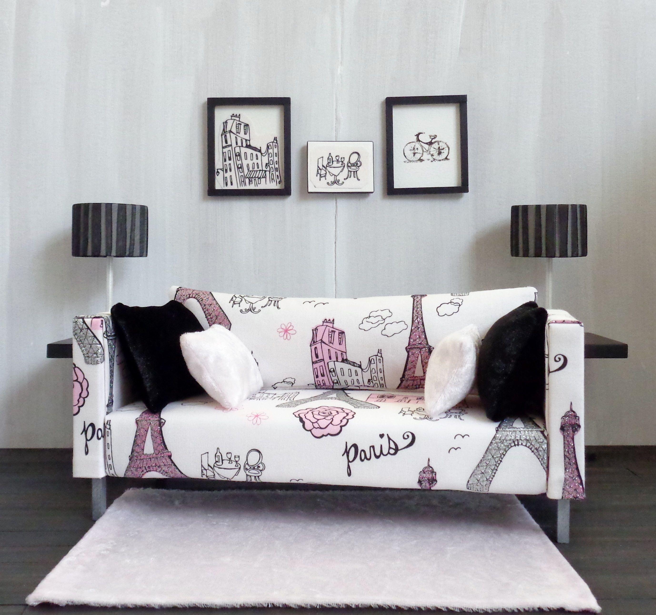 Romus Designs Handmade Doll Furniture 1 6 Handmade Modern Doll  # Muebles Lady Lucky