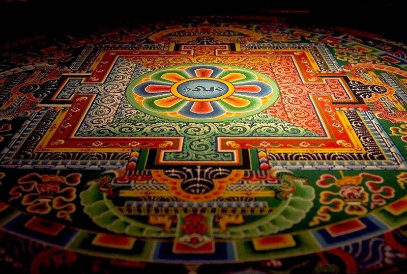 Many sand mandala contain a specific outer locality which is ...