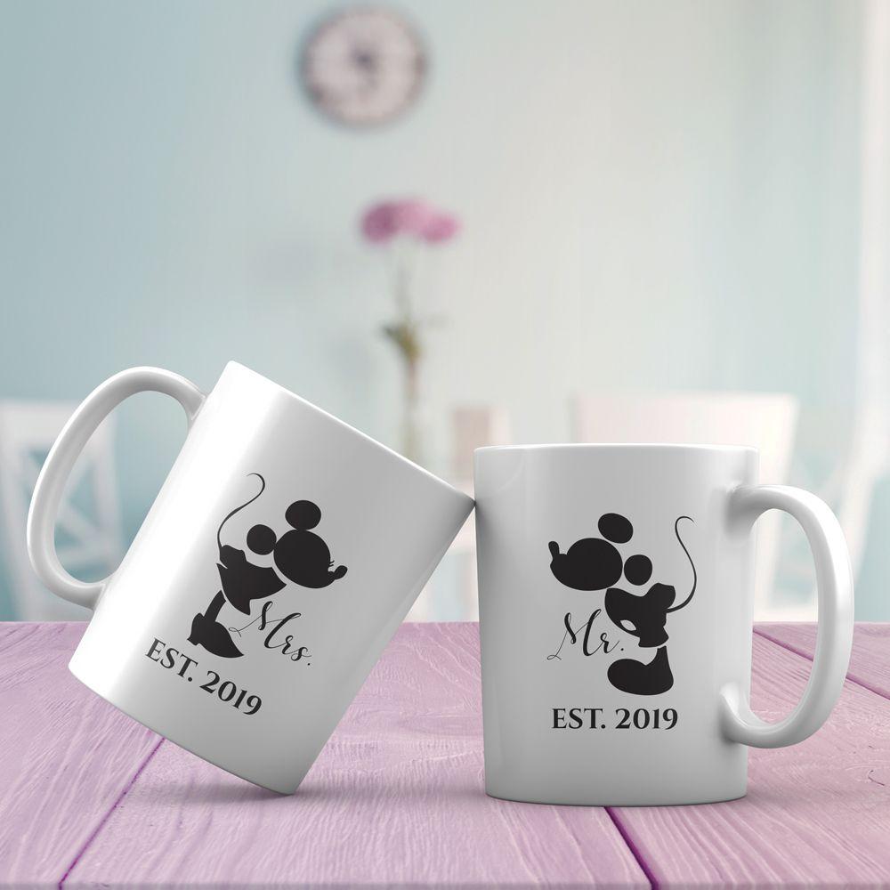 Mr and mrs est custom mugs wedding gift 02 wedding gifts
