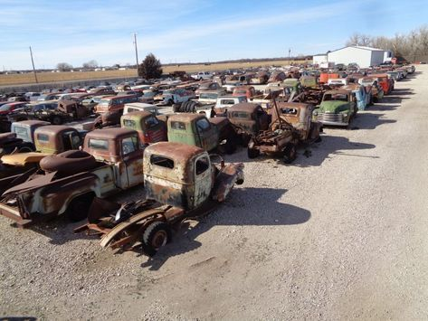 Classic Cars and Trucks For Sale: Nobody Else's Auto Recycling – Great Bend, Kan…