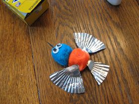 Almost Unschoolers Hummingbird Craft And Books Crafts Pinterest