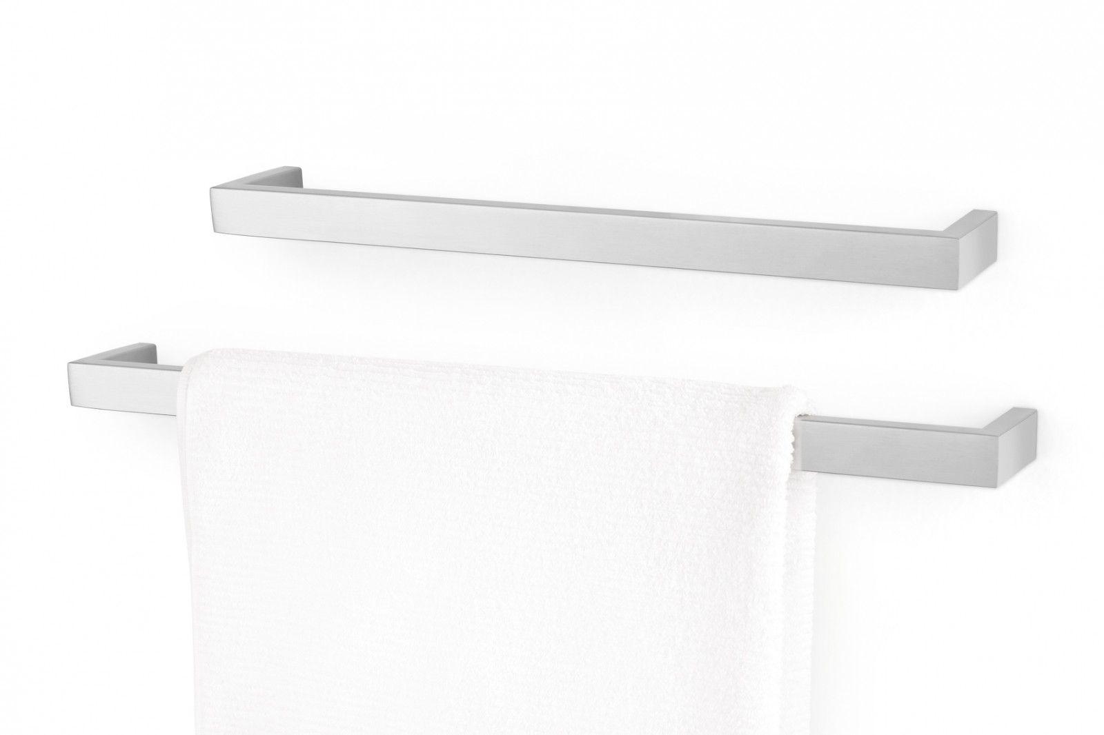 ZACK Edelstahl Handtuchhalter LINEA, Handtuchstange, L 45 cm, 40387 – Bild 2