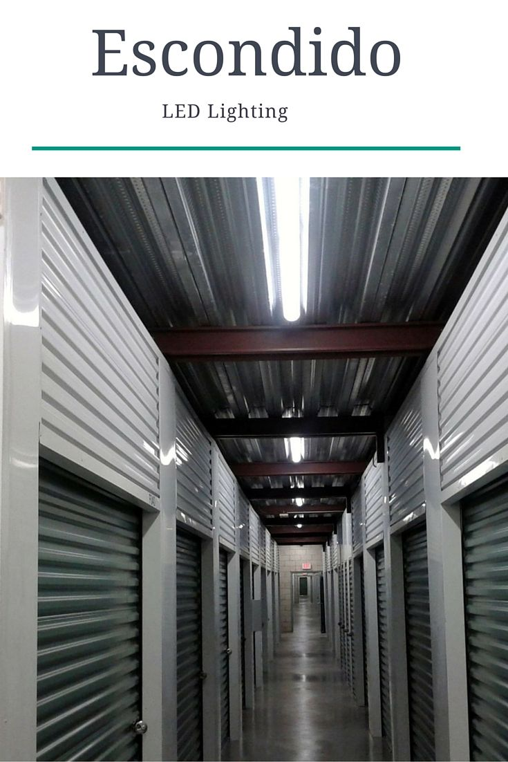 Our Escondido Self Storage Location Now Offers Led