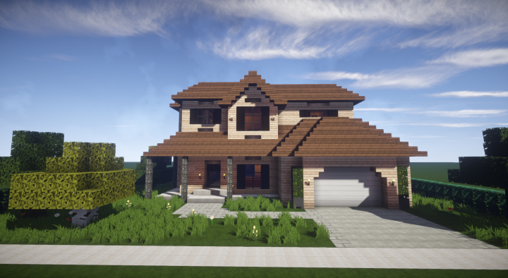 Prime Traditional Suburban House Minecraft Project Minecraft Download Free Architecture Designs Osuribritishbridgeorg